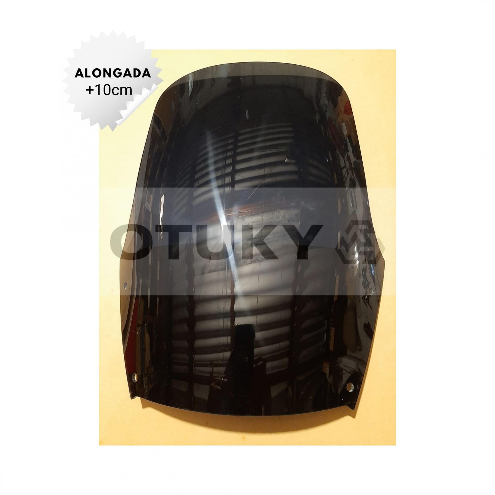 Bolha para Moto DR 650 RSE 1994 1995 1996 1997 Alongada +10cm Otuky