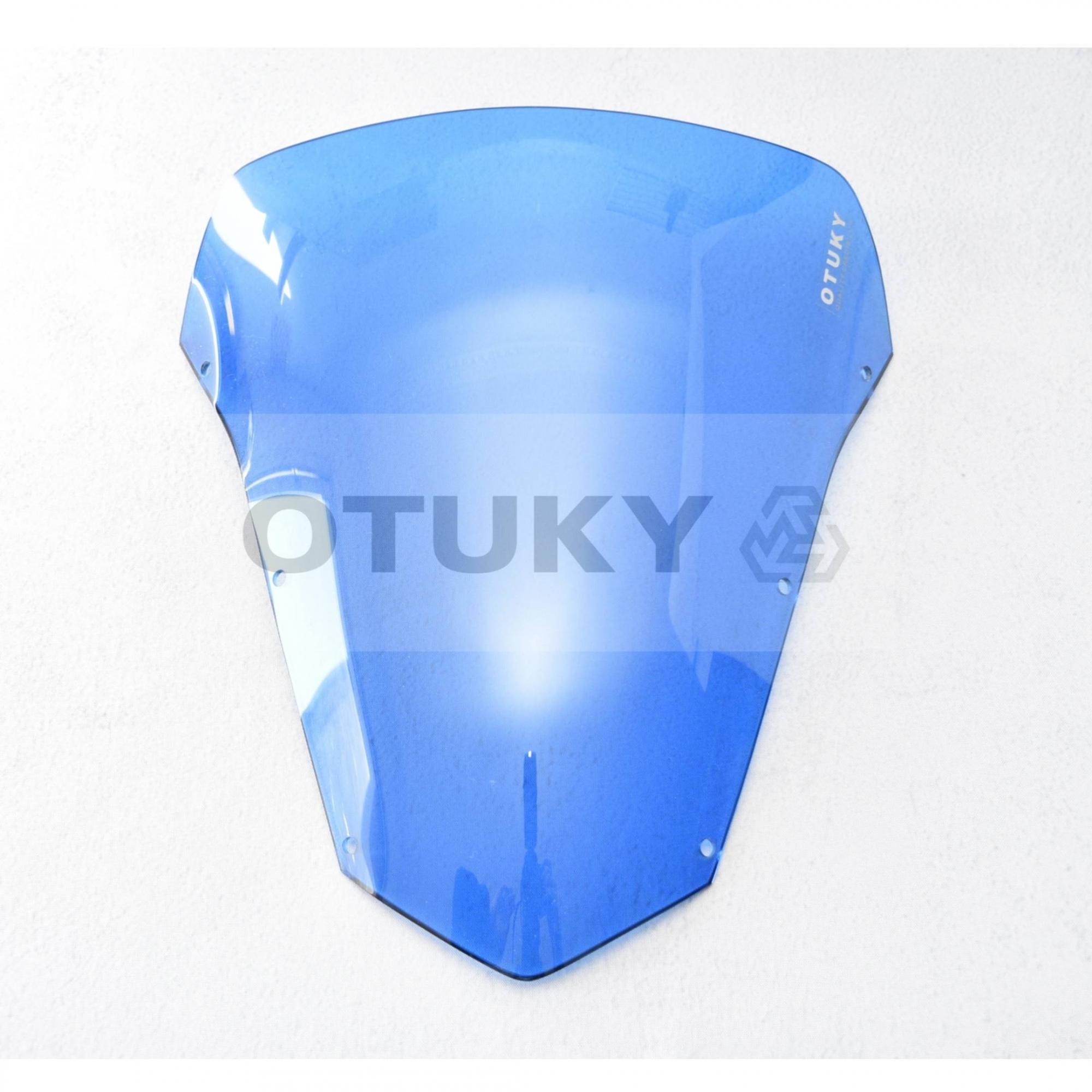 Bolha para Moto Fazer 600 FZ 6 S 2007 2008 2009 2010 Otuky Azul Claro