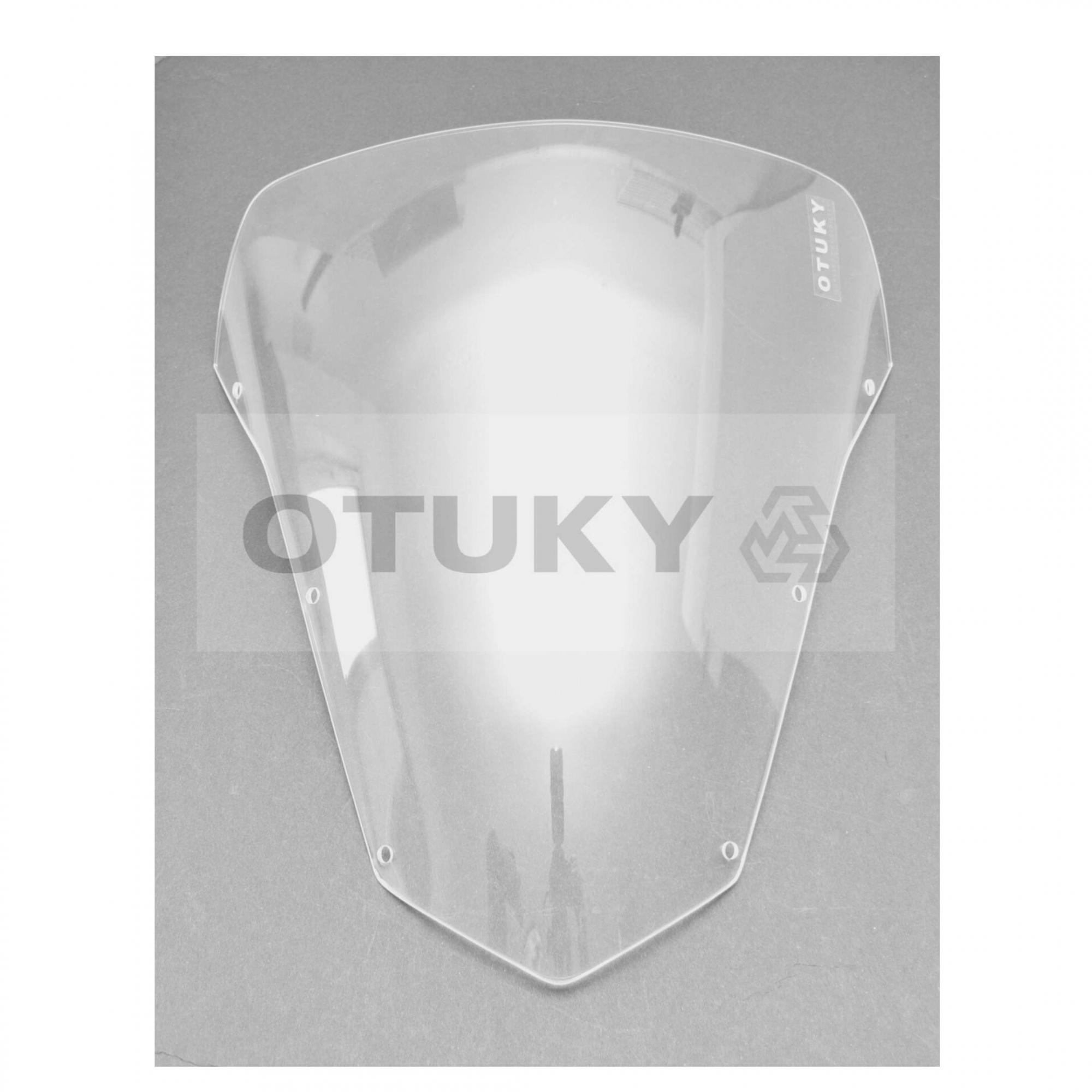Bolha para Moto Fazer 600 FZ 6 S 2007 2008 2009 2010 Otuky Padrão Cristal