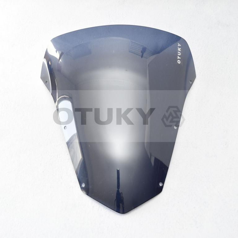 Bolha para Moto Fazer 600 FZ 6 S 2007 2008 2009 2010 Otuky Padrão Fumê Escuro