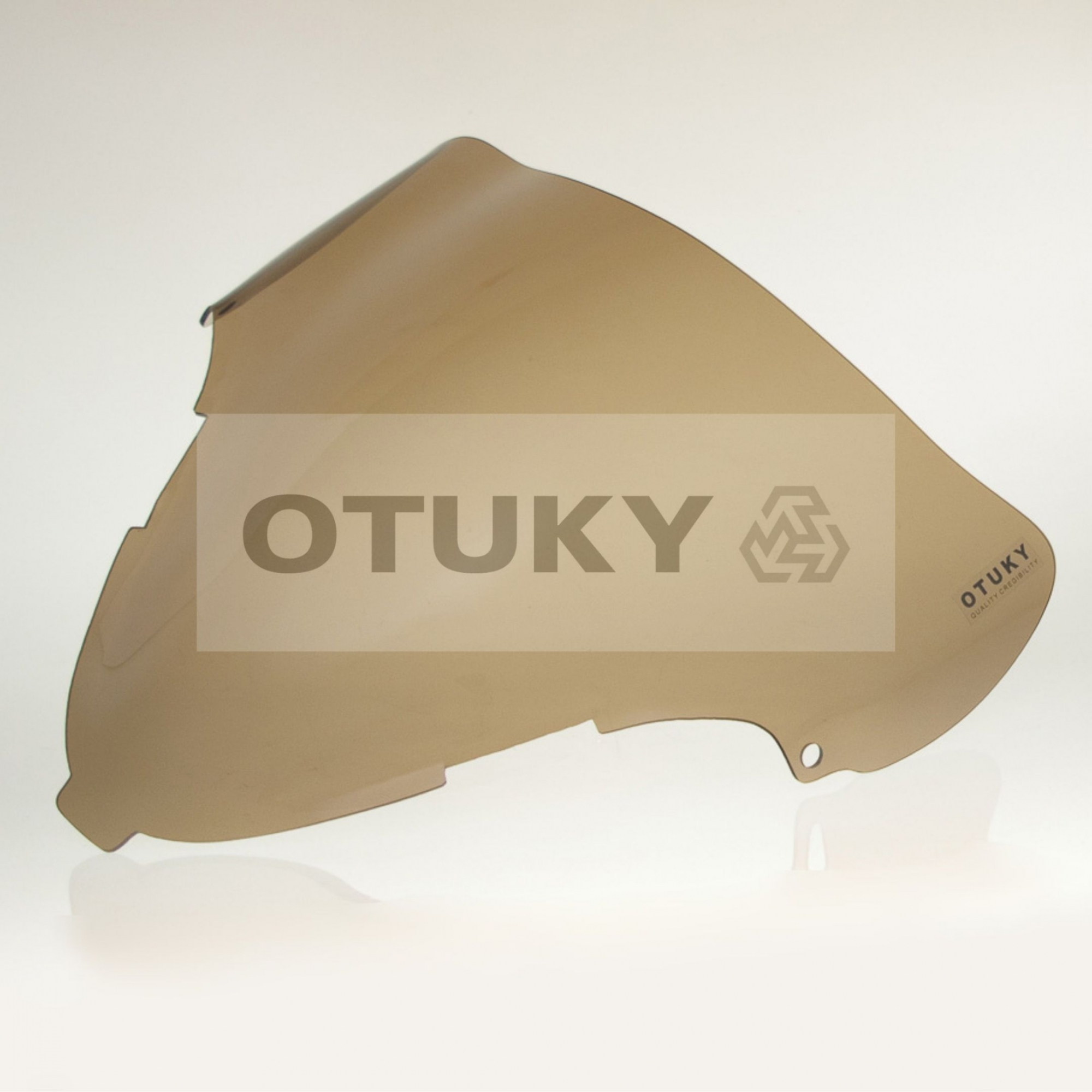 Bolha para Moto GSX 1300 R Hayabusa 1999 2000 2001 2002 2003 2004 2005 2006 2007 Otuky Fumê Marrom
