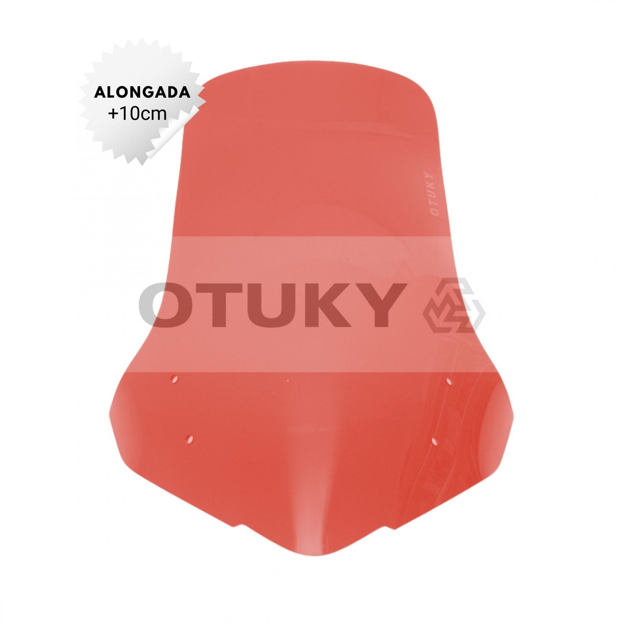 Bolha para Moto NC 700 X Alongada +10cm Otuky