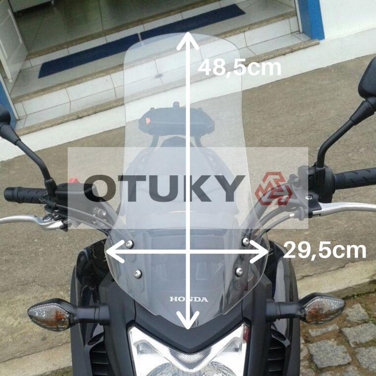 Bolha para Moto NC 700 X Alongada +15cm