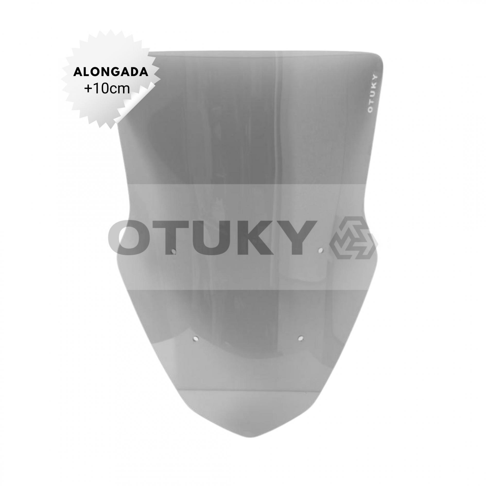 Bolha para Moto Nmax 160 2017 2018 2019 2020 Alongada +10cm Otuky