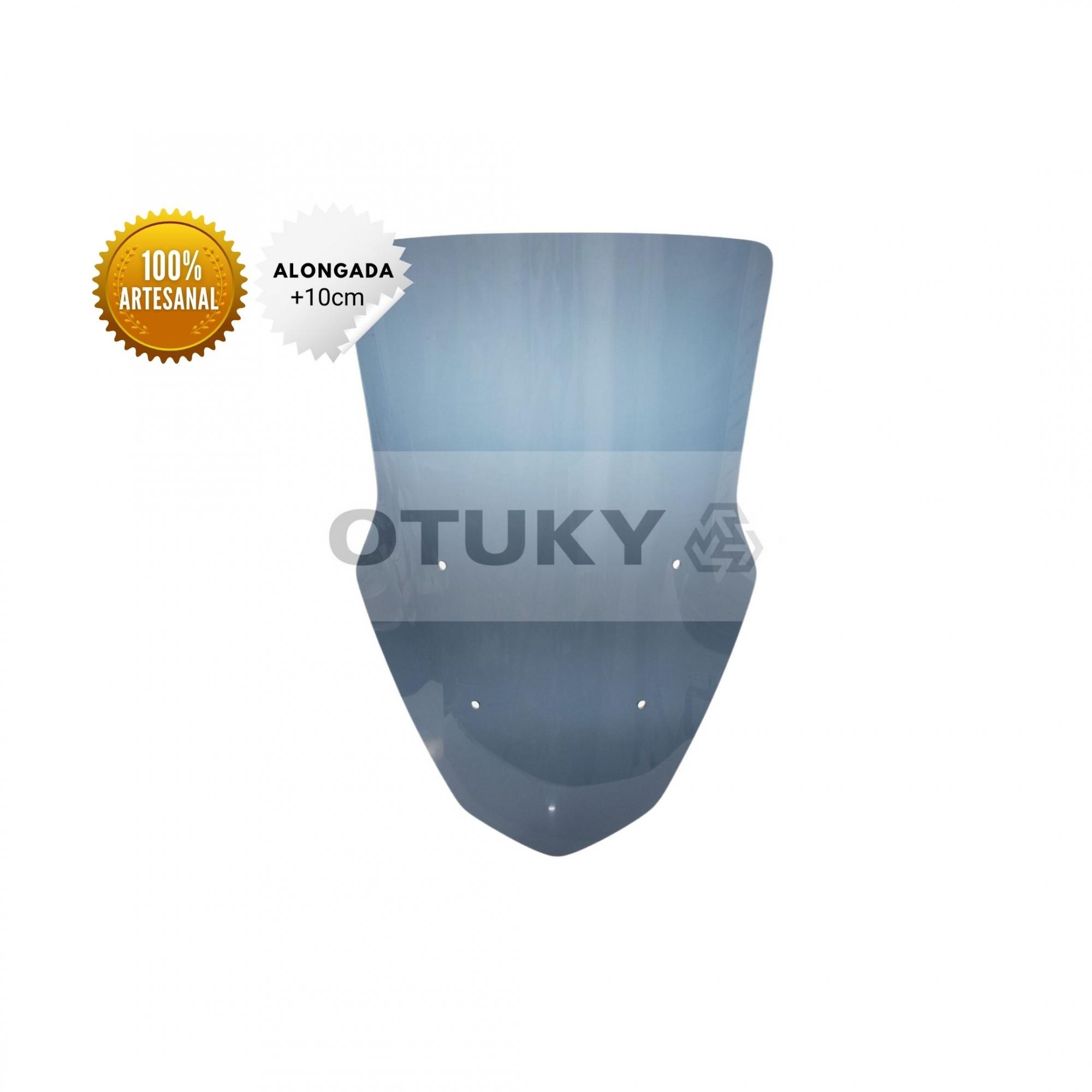 Bolha para Moto Nmax 160 2017 2018 2019 2020 Otuky Alongada Fumê Escuro