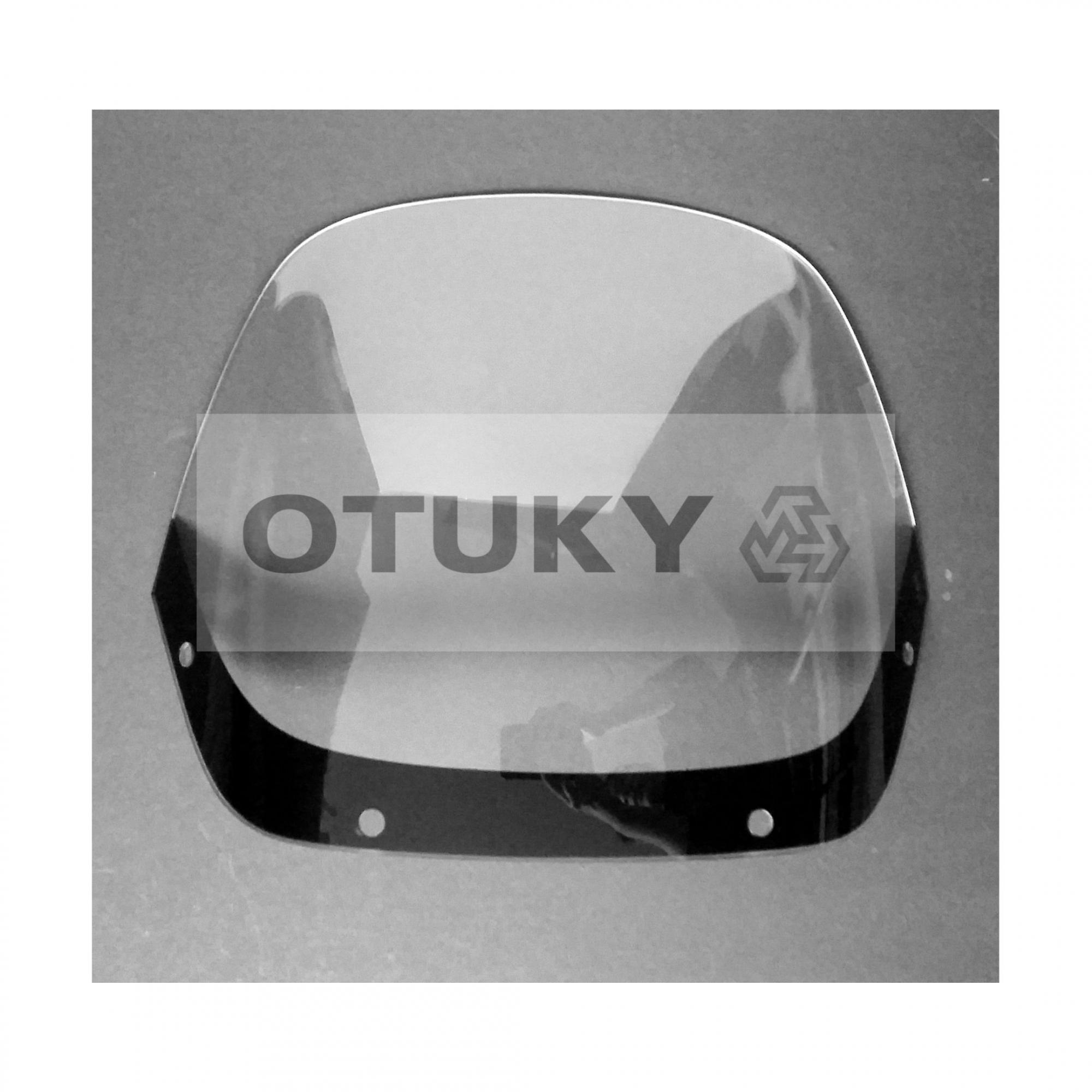 Bolha para Moto NX 350 Sahara Tamanho Padrão Otuky Cristal