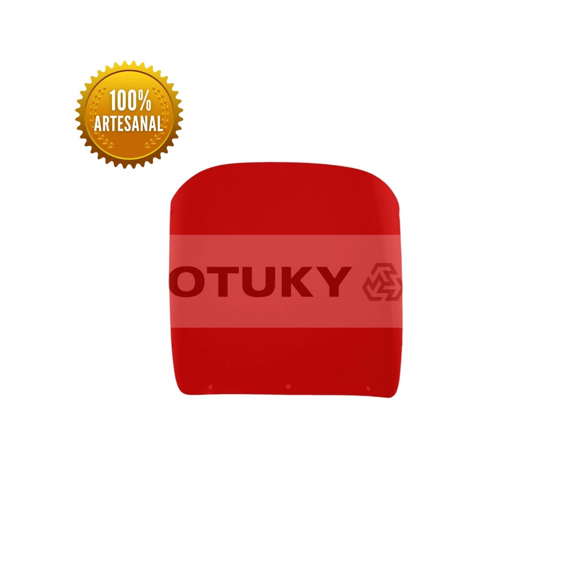 Bolha para Moto RDZ 135 Otuky Padrão Vermelho
