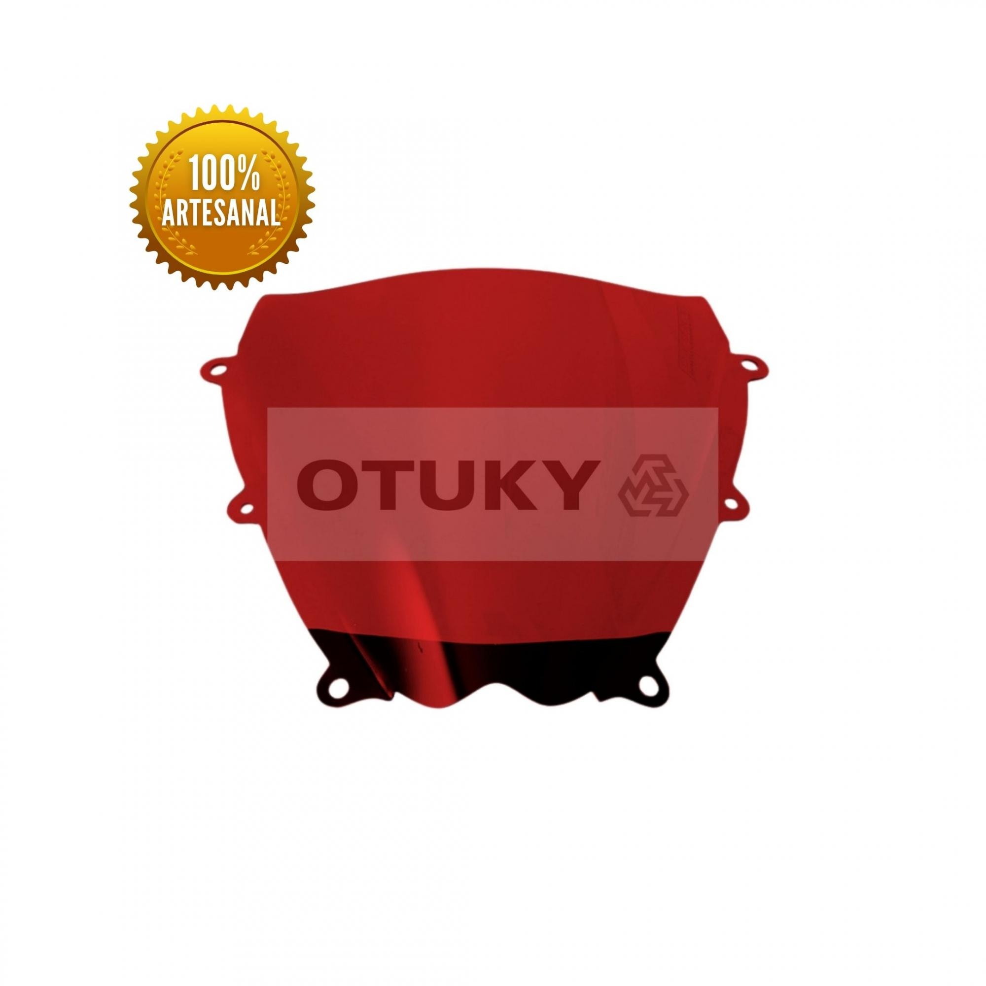 Bolha Para Moto Srad 1000 GSX-R 2008 2009 2010 Otuky Vermelho