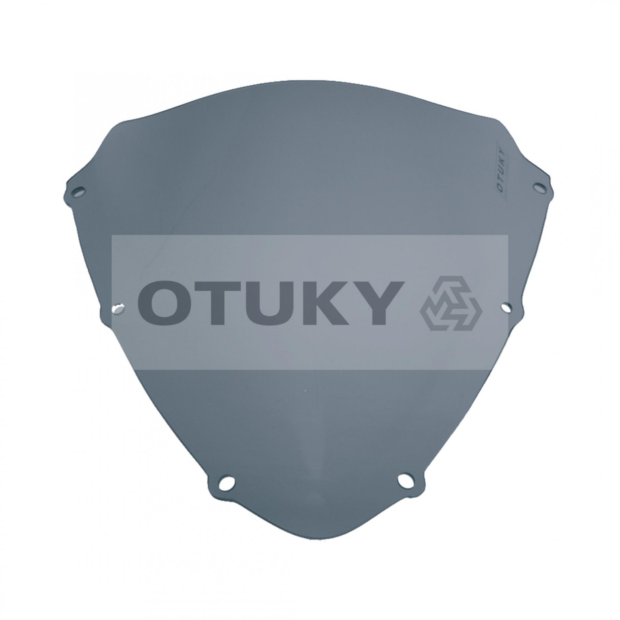 Bolha para Moto Srad 750 GSX-R 2010 2011 2012 2013 Otuky Padrão Fumê Escuro Azulado
