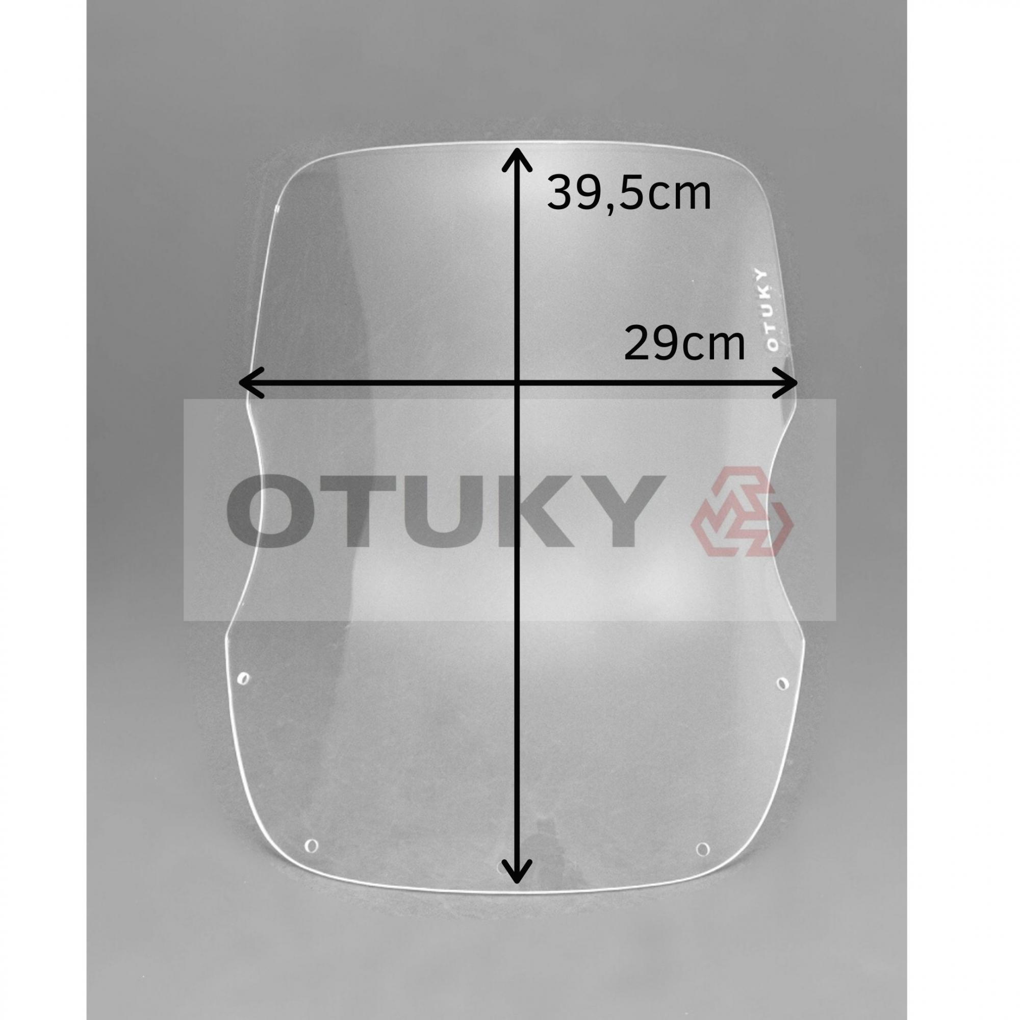 Bolha para Moto Super Ténéré XTZ 750 Otuky Alongada Cristal