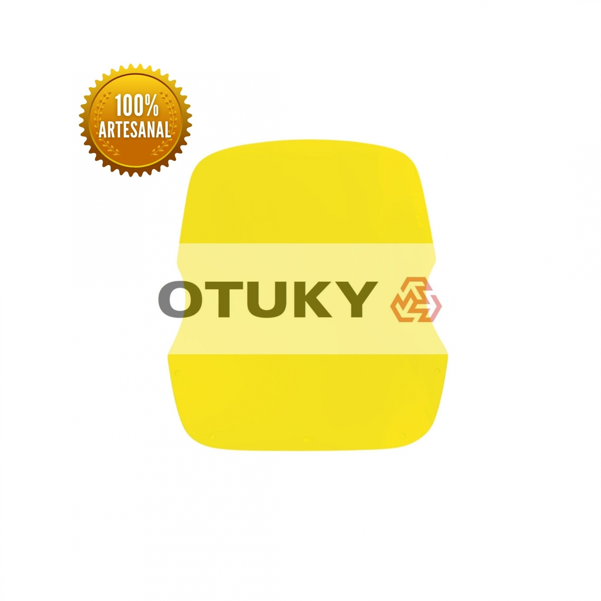 Bolha para Moto Super Ténéré XTZ 750 Otuky Padrão Amarelo