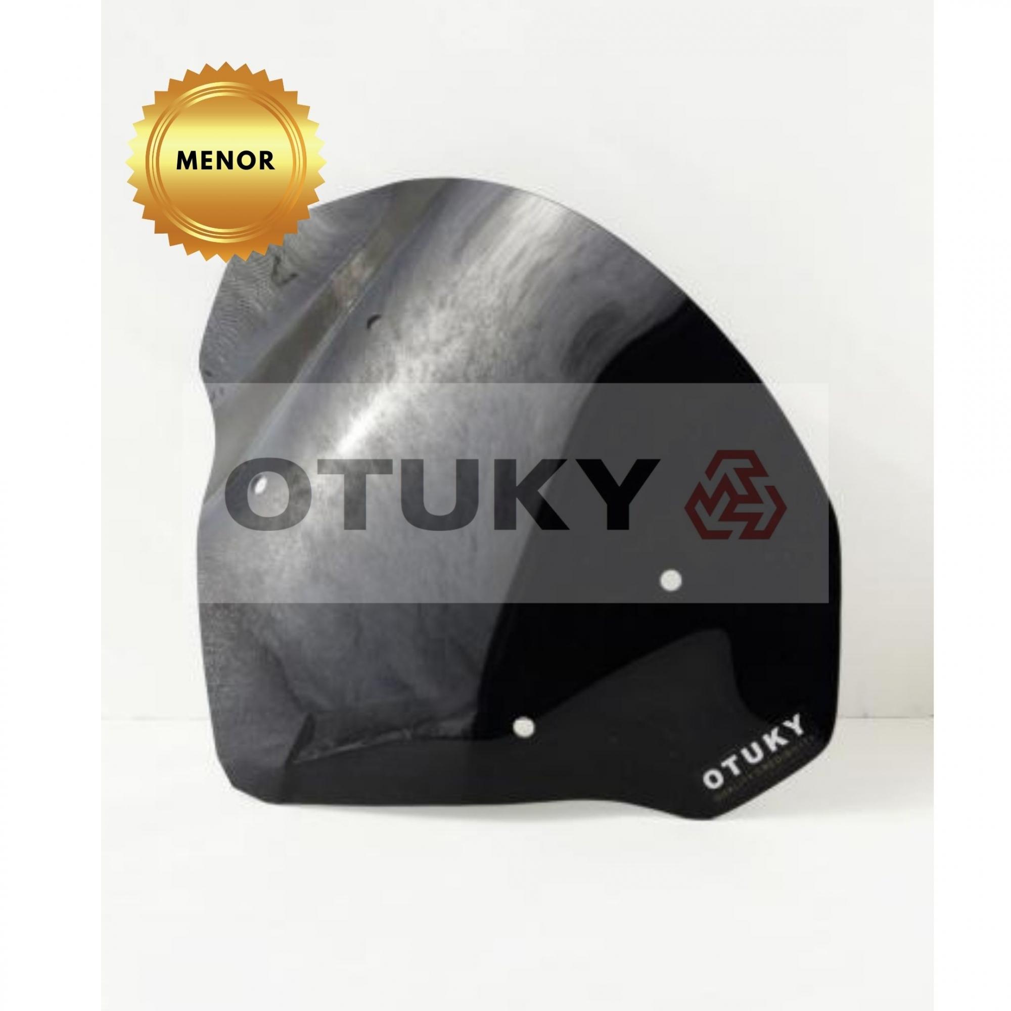Bolha para Moto Ténéré 250 Xtz 2011 2012 2013 2014 2015 2016 2017 2018 Otuky Menor Preto