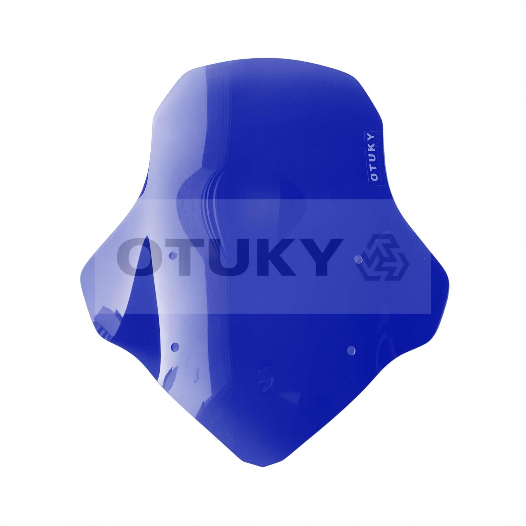 Bolha para Moto Ténéré 250 Xtz 2011 2012 2013 2014 2015 2016 2017 2018 Otuky Padrão Azul Escuro