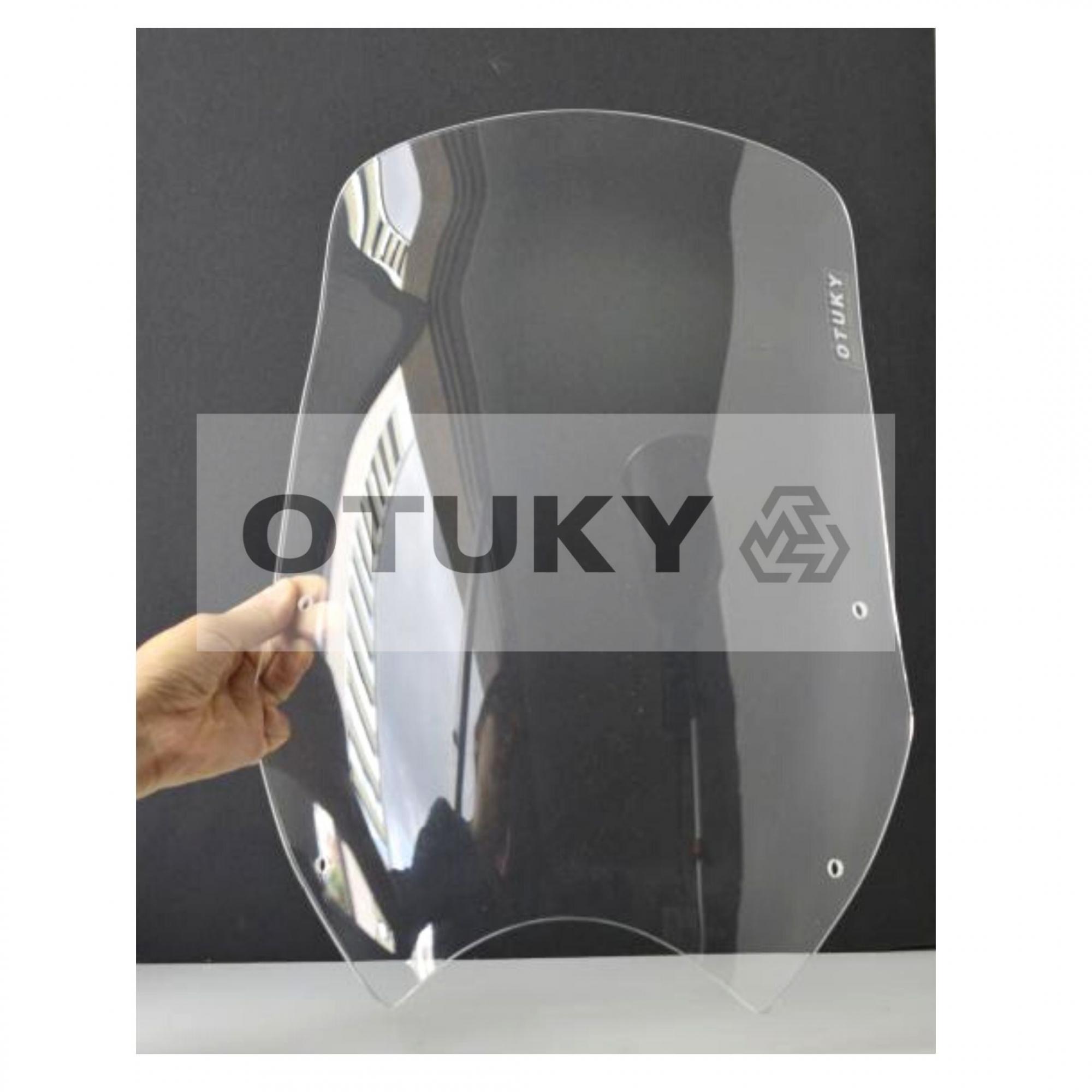 Bolha para Moto Transalp XL 700 V Otuky Alongada Cristal