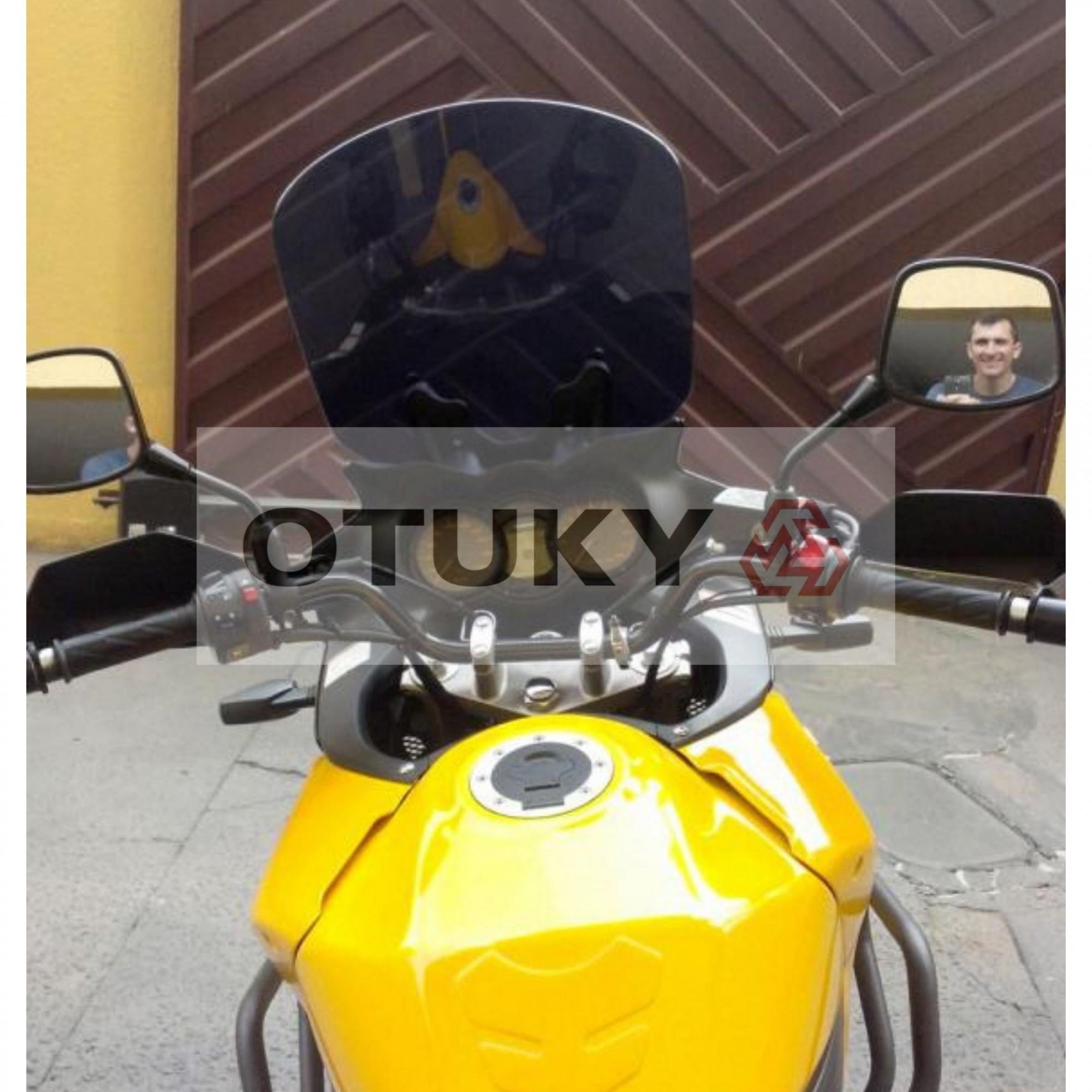 Bolha para Moto V-Strom DL 650 1000 2004 2005 2006 2007 2008 2009 2010 2011 2012 2013 Alongada +10cm