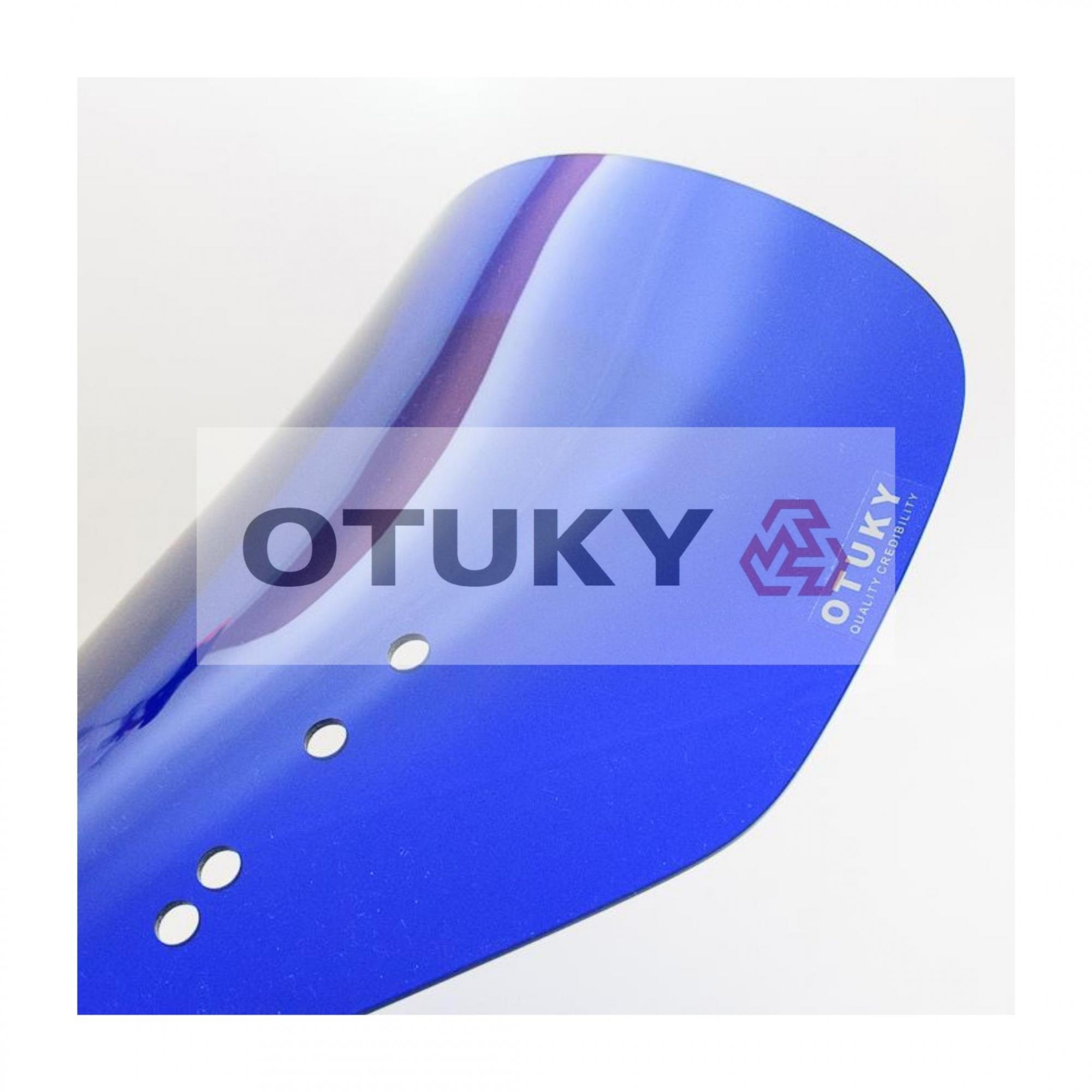 Bolha para Moto V-Strom DL 650 1000 2004 2005 2006 2007 2008 2009 2010 2011 2012 2013 Padrão Otuky Azul Escuro