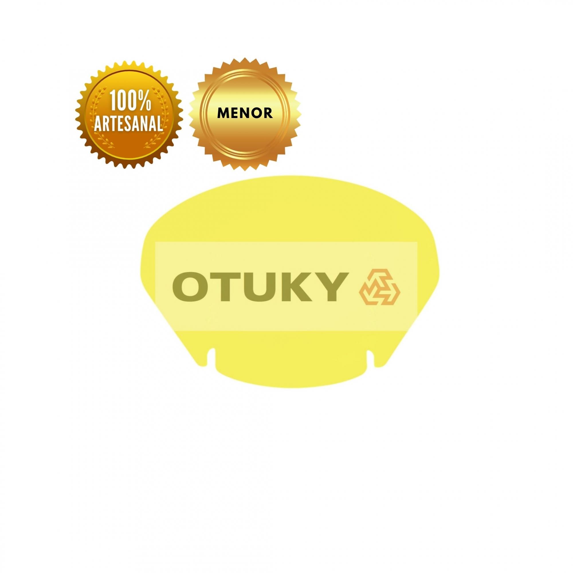 Bolha para Moto V-Strom DL 650 1000 2004 Até 2013 Menor Otuky Amarelo