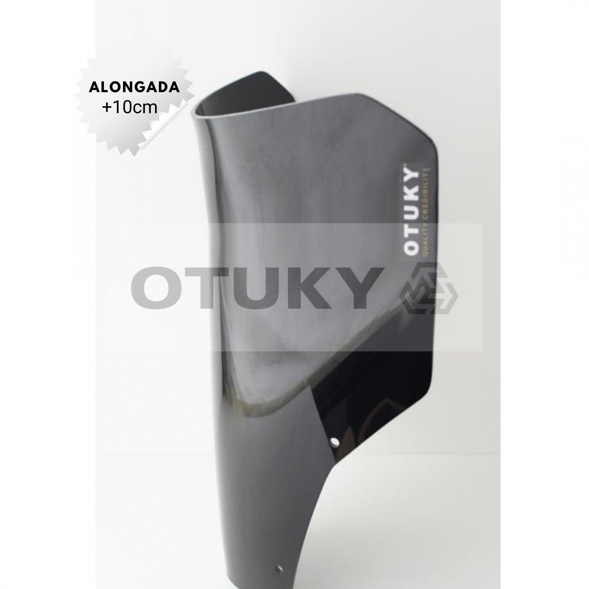 Bolha para Moto XT 660 R 2005 2006 2007 2008 2009 2010 2011 2012 2013 2014 2015 2016 2017 2018 Alongada +10cm
