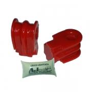 Livina - 02 Buchas da Barra Estabilizadora Dianteira em Poliuretano