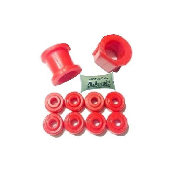 ACCORD 94 à 97 - Kit Estabilizador Dianteiro em Poliuretano-10pç