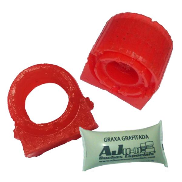 Tiguan - 02 Buchas Barra Estabilizadora Dianteira Poliuretano
