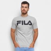 CAMISA FILA LETTER II 1005713 CINZA MASCULINO