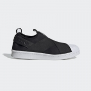 TENIS ADIDAS SUPERSTAR SLIP ON EW2053 PRETO FEMININO