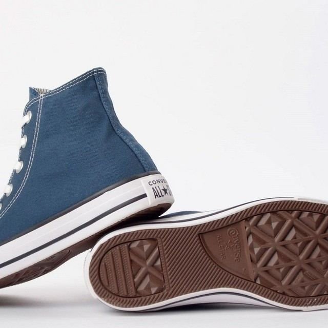 BOTA ALL STAR CHUCK TAYLOR CT00040003 AZUL FEMININO