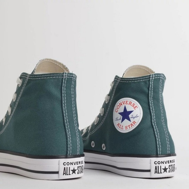 BOTA ALL STAR CHUCK TAYLOR CT04190040 VERDE PADRÃO