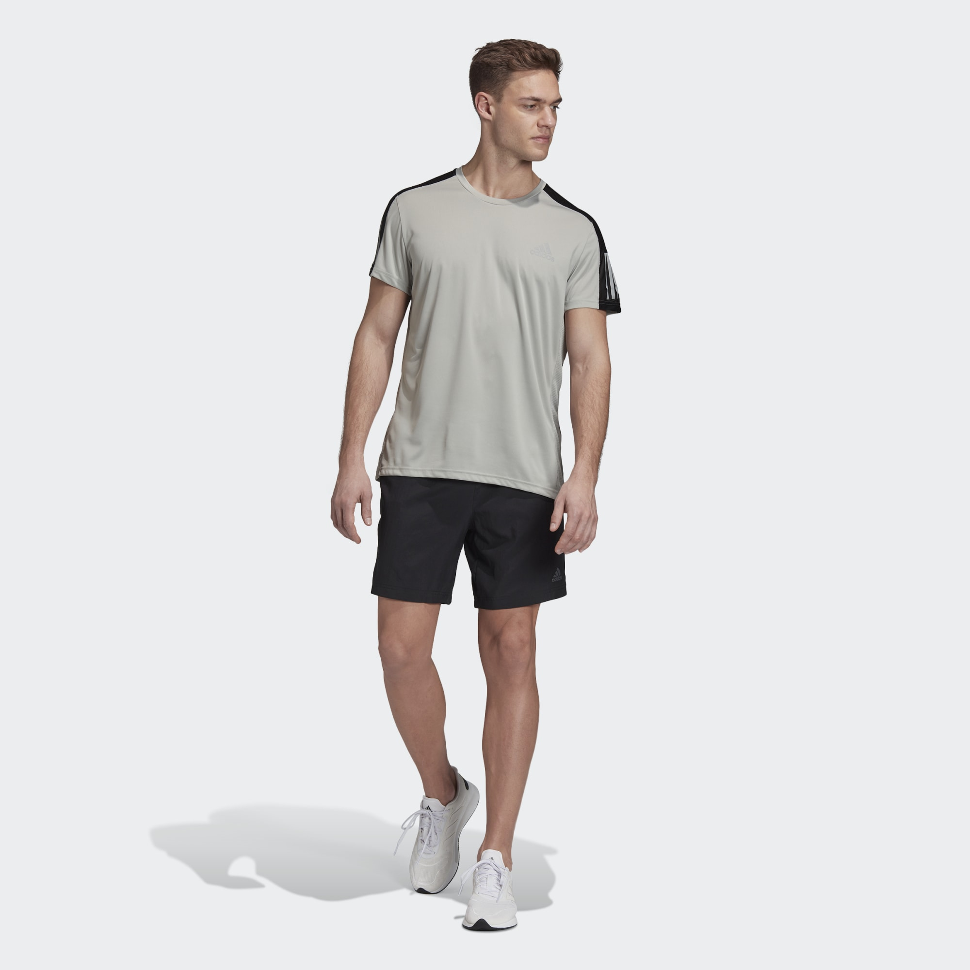 CAMISA ADIDAS OWN THE RUN FT1432 VERDE MUSGO MASCULINO