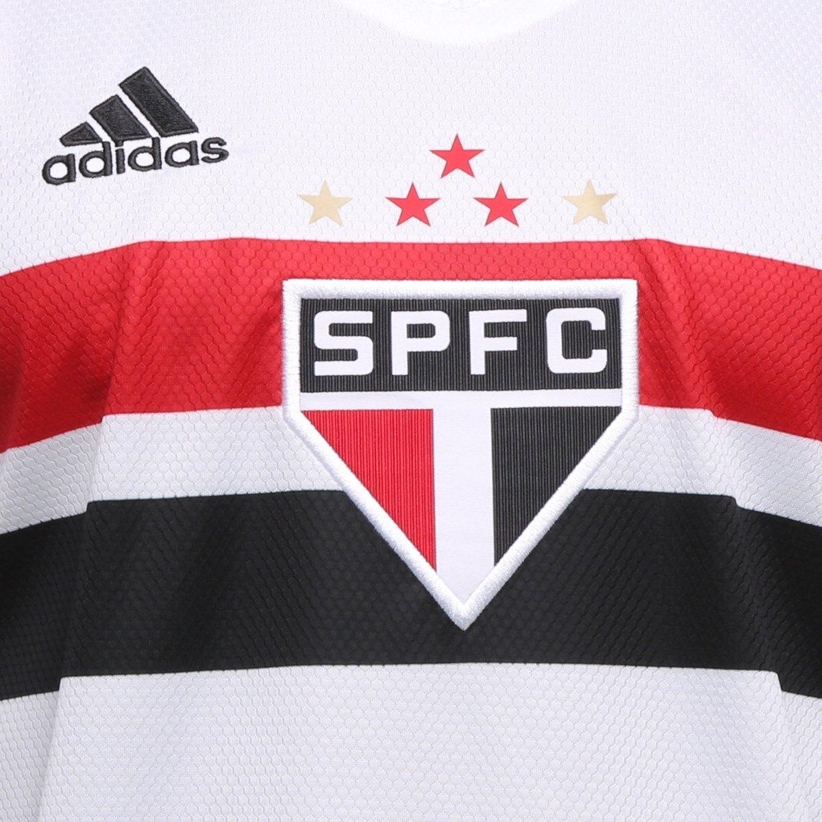 CAMISA CLUBE ADIDAS SAO PAULO I 2021 GK9828 BRANCO MASCULINO