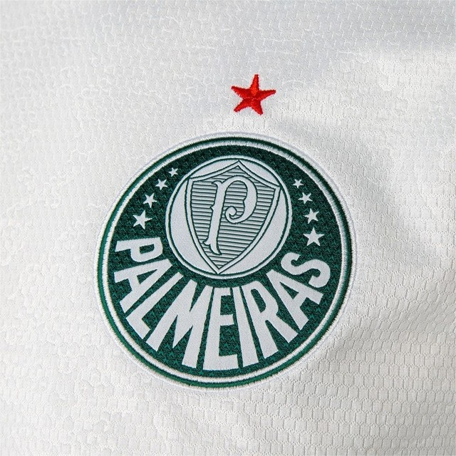 CAMISA CLUBE PUMA PALMEIRAS II 704715 01 BRANCO MASCULINO