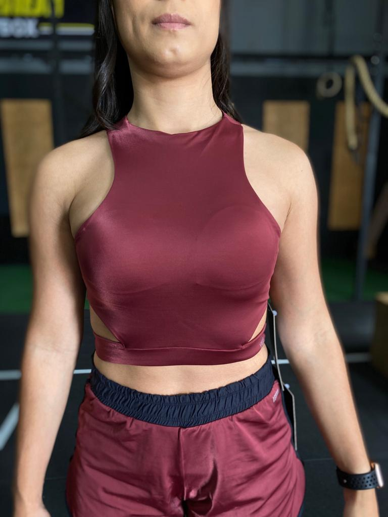 CROPED LEEFIT . CR0049 BORDO FEMININO