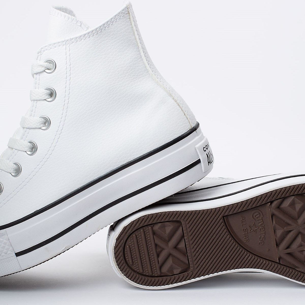 TENIS CONVERSE CHUCK TAYLOR ALL STAR LIFT HI CT09820001 BRANCO UNISSEX