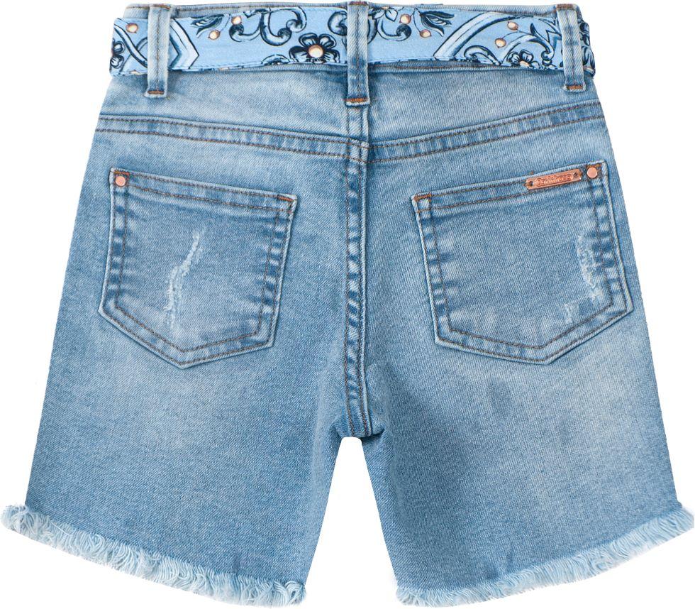 Bermuda infantil comfort jeans  Tam 10 a 18 anos