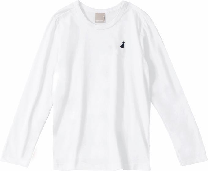 Camiseta básica Gola Redonda - Tam 01 a 16 anos
