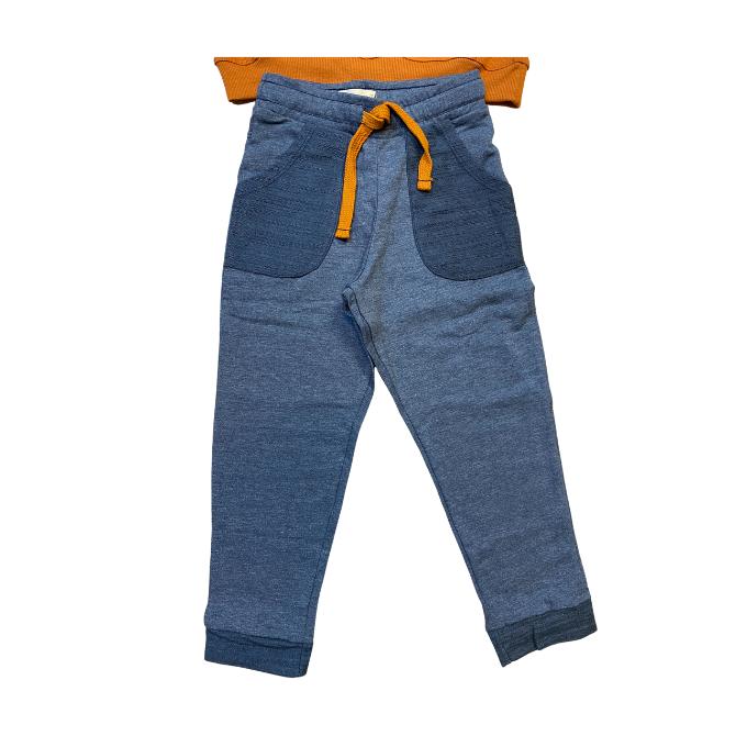 Conjunto blusa e calça tornado - Tam 4 a 10 anos