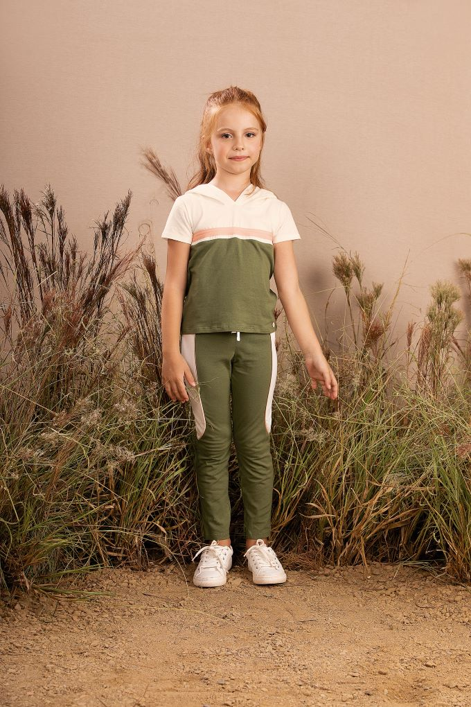 Conjunto Infantil menina em cotton  - Tam 8 a 14 anos