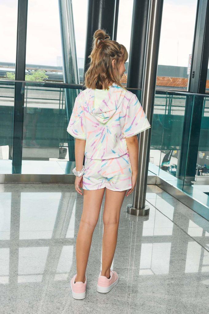 Conjunto Teen Menina em cotton Vic - Tam 12 a 18 anos