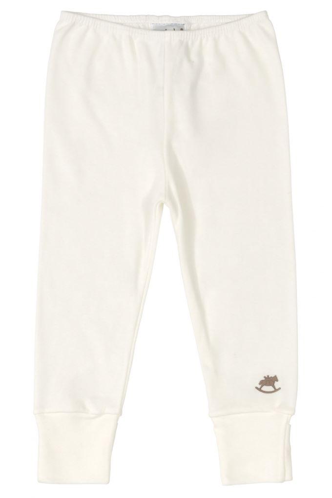 Kit Body, Calça e Casaco em Suedine Off White e Rosa claro - Tam M: 6-9M / G: 9-12M
