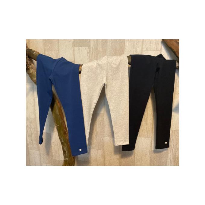 Legging color em cotton - Tam 4 a 14 anos