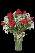 Bouquet Perfeição no Acrílico