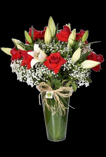 Bouquet Amor, Meu Grande Amor  - Floricultura Cambuí