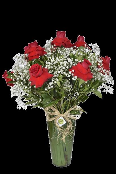 Bouquet Perfeição no Acrílico  - Floricultura Cambuí