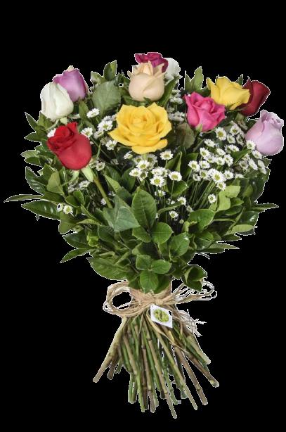 Bouquet Sem Fronteiras Colorido