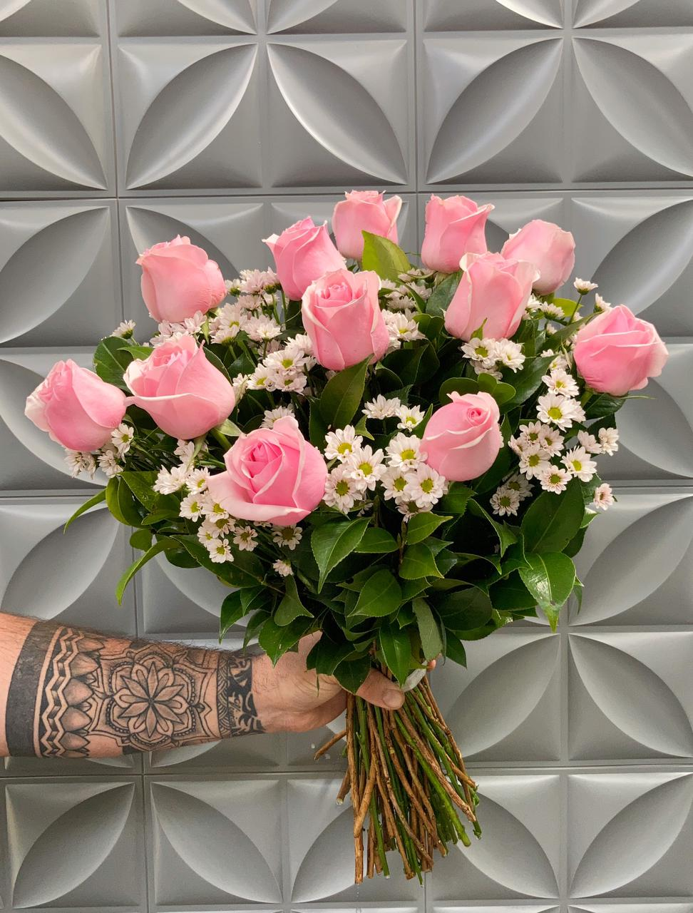 Bouquet Sem Fronteiras Rosa