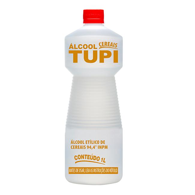 Álcool Etílico de cereais 94,4° INPM 1 litro Tupi
