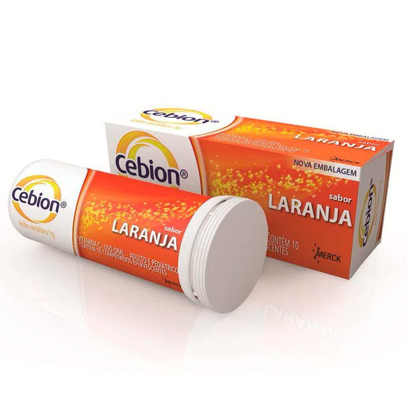 Cebion Sabor Laranja 10 Comprimidos Efervecentes 1g