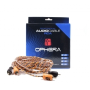 Ophera Professional Audio Cable (cabo RCA 5m 2 canais)