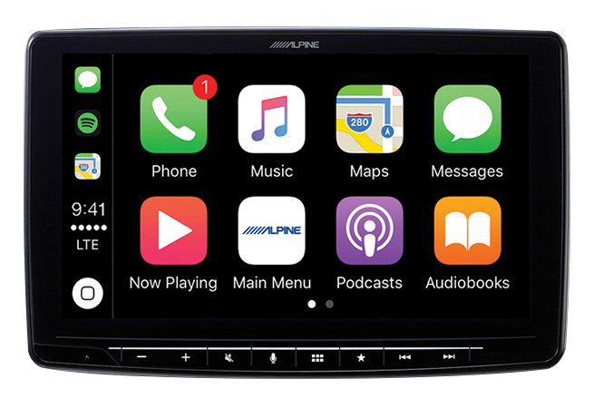 "Alpine iLX-F309 central multimidia 9"" CarPlay/AndroidAuto"